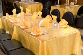 golden yellow table