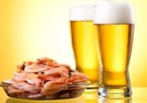 креветки с пивом для любимого