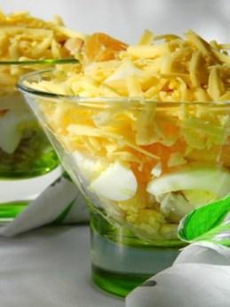 сюрприз любимому салат желтый