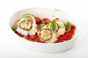 рыба запеченная с овощами в духовке