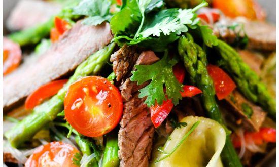 салат из говядины отварной